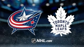 Atkinson lifts Blue Jackets past Maple Leafs, 3-2