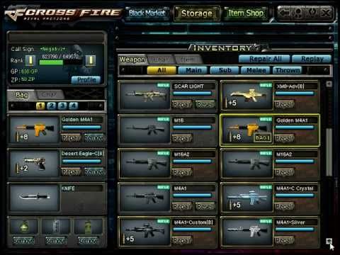 crossfire best inventory youtube
