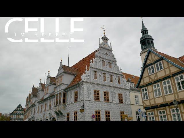 Residenzstadt Celle im Herbst - 4K