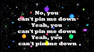 "MARINA AND THE DIAMONDS | ""CAN'T PIN ME DOWN"" LYRICS VIDEO"