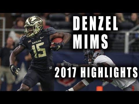"""Denzel Mims Ultimate Baylor Highlights    2017 Sophomore Season    """"1,000 Yard Receiver"""""""