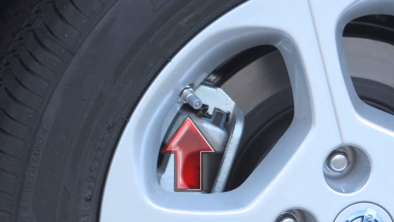 2013 Nissan Leaf Tire Pressure Monitoring System Tpms