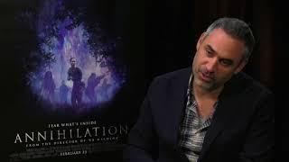 Director Alex Garland Talks 'Annihilation'