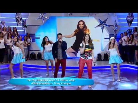 Avine Vinny e Solange Almeida empolgam com a música Tô Limpando Você da Minha Vida