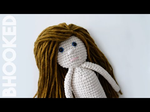 Crochet Doll (Step by Step Tutorial) - Video 1 of 2
