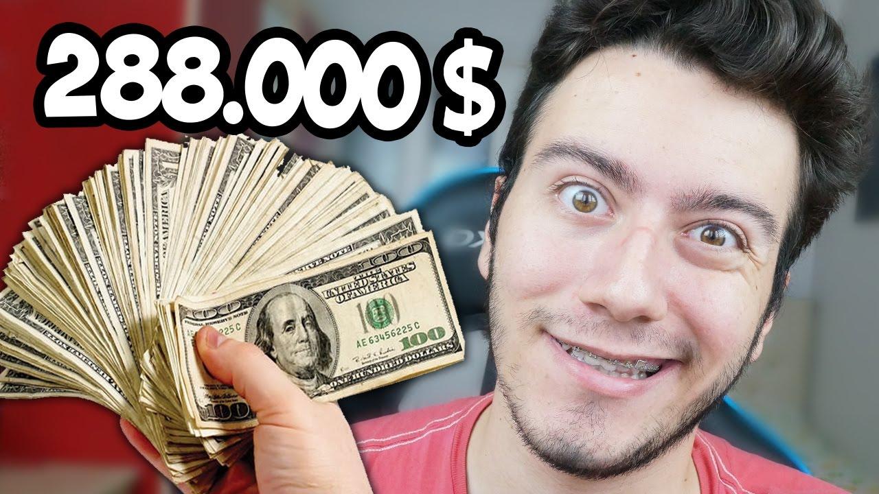 Ne Kadar Para Kazaniyorum Youtube