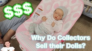 Why Do Reborn Collectors Sell Their Dolls? | Kelli Maple