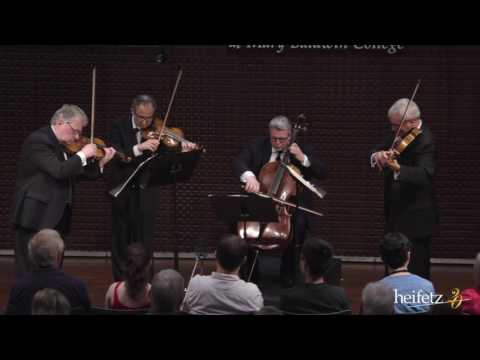 Heifetz 2016: Emerson String Quartet | Shostakovich: String Quartet No. 10 - II. Allegretto Furioso mp3