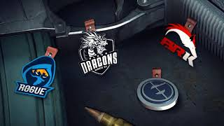 Rainbow Six Siege Pro League Charms in January [Evil Genius, Black Dragon, Rogue, BRK]