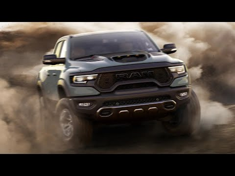 2021 Ram 1500 TRX — Off-road Driving / The Monster Truck