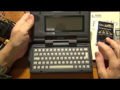 ИТ-музей:обзор Atari Portfolio - компьютер Джона Коннора из Terminator 2