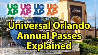 Universal Orlando Annual Passes: Everything You Need to Know
