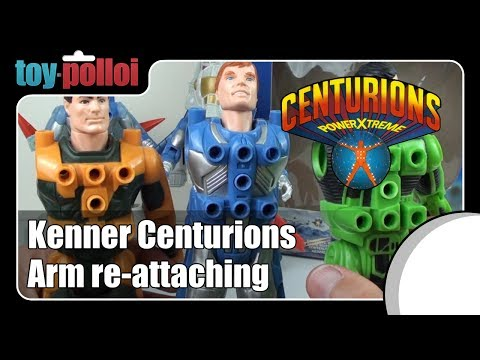 Fix it guide - Centurions Arm re-attaching guide by Kenner