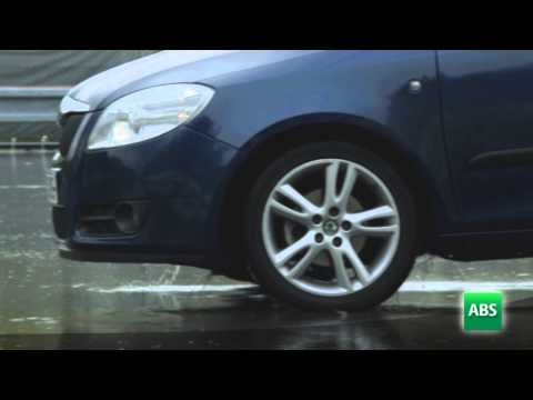 ABS : how anti-lock braking system works in wet situations