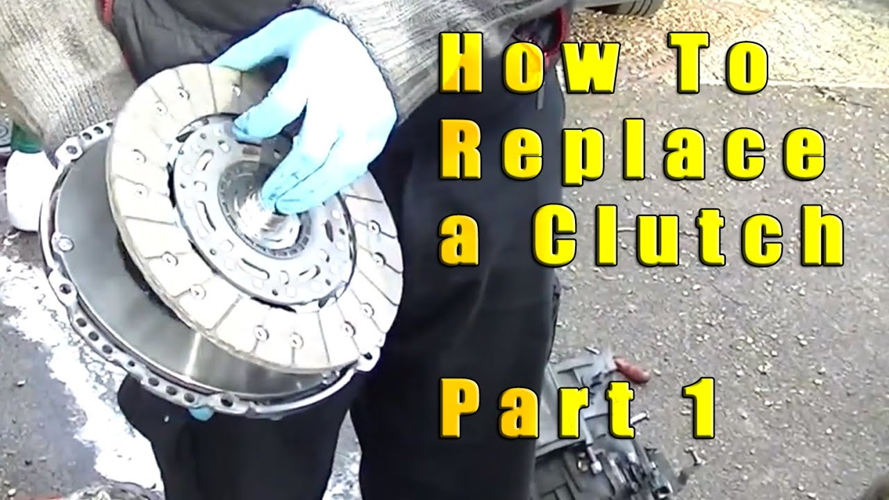 how to replace a vw clutch part 1 [ 1280 x 720 Pixel ]