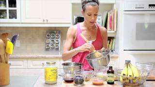 Delicious Tips - Kamut Coconut Oil Blueberry Banana Muffins