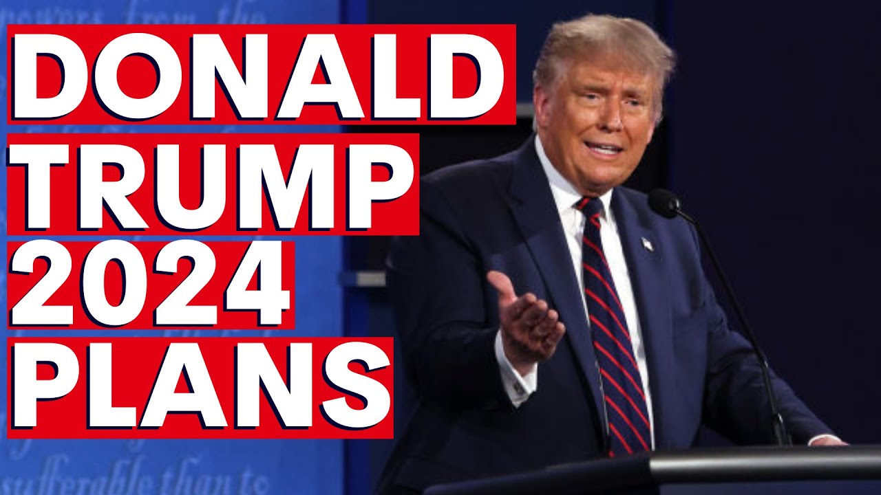 DONALD TRUMP 2024: The controversial former US President looks like he'll run again - YouTube