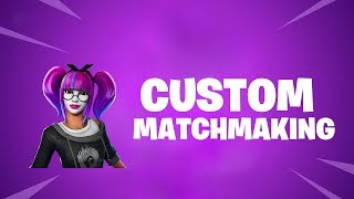 (EU) CUSTOM MATCHMAKING | CODE- haywire1 | FORTNITE LIVE | USE CODE HAYWWIRE_YT IN ITEM SHOP |
