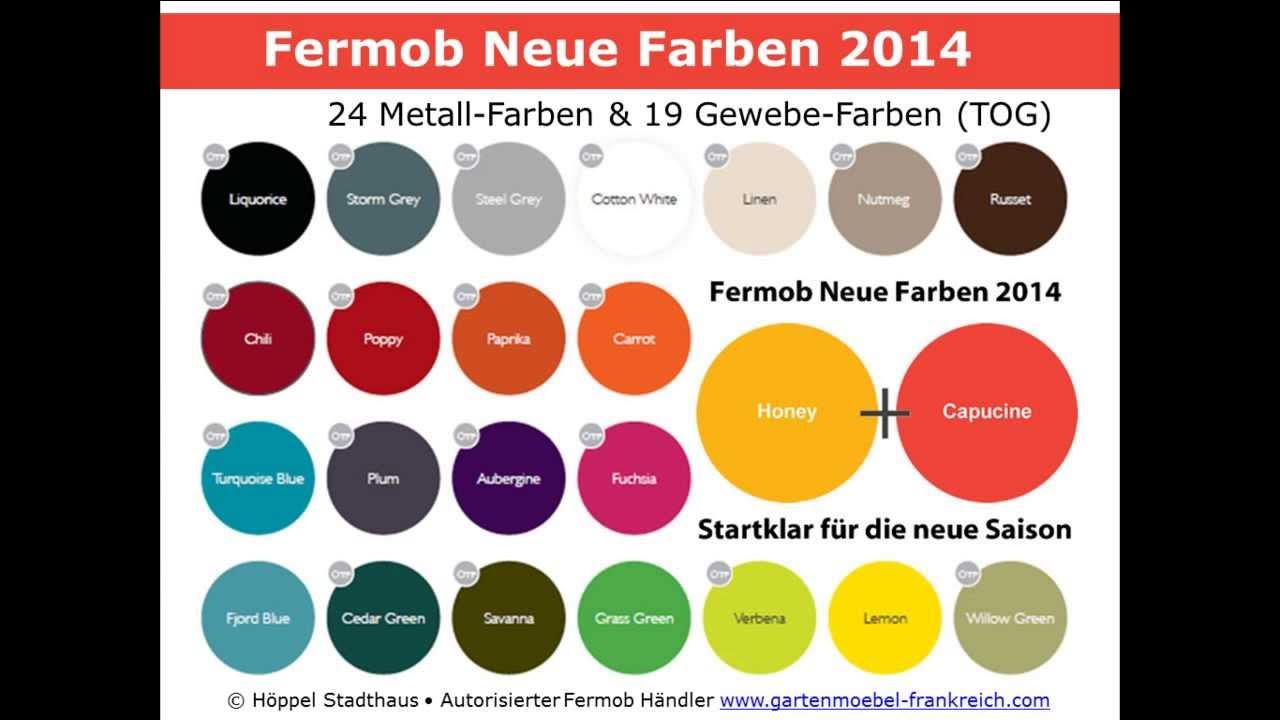 Green Farben fermob neue farben 2014