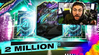I PACKED THE BEST FUTURE STAR!! 2 MILLION COINS!! FIFA 21