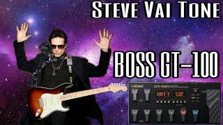 BOSS GT-100 Steve Vai Patch (stratocaster)