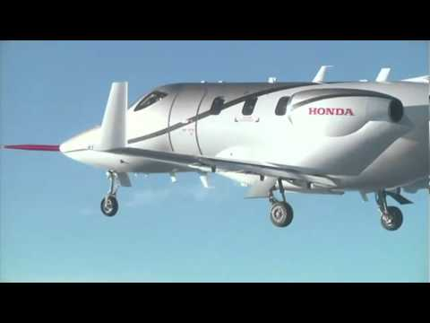 Fuel Cells Hydrogen Honda Jet aircraft