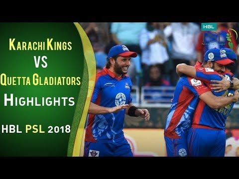 Full Highlights | Karachi Kings Vs Quetta Gladiators | 23 February | Match 2 | HBL PSL 2018 | PSL