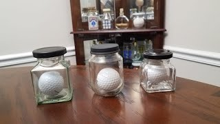 Golf Ball in a Bottle - Real Tutorial