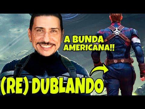 REDUBLANDO O CAPITÃO AMÉRICA +18   ft DUDA ESPINOZA