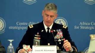 Next Gen October 23, 2013 - General David M. Rodriguez - Commander, U.S. Africom