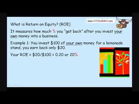 Debt Policy in 15 minutes: Finance Capital Structure Theory & Return on Investment Ratio ROI / ROE