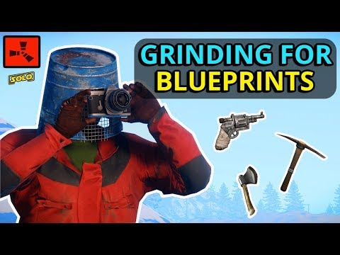 The SOLO Quest To UPGRADE My BLUEPRINTS! Rust Solo (2/2) thumbnail
