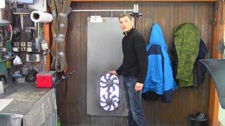 видео Вытяжка в гараже: как сделать своими руками