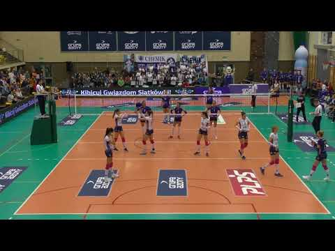 Anna Kaczmar SETTER Polish League 2017-2018 nr 8 blue shirt