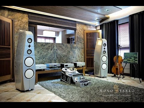 Lawrence Audio Silver Dragon flagship speakers