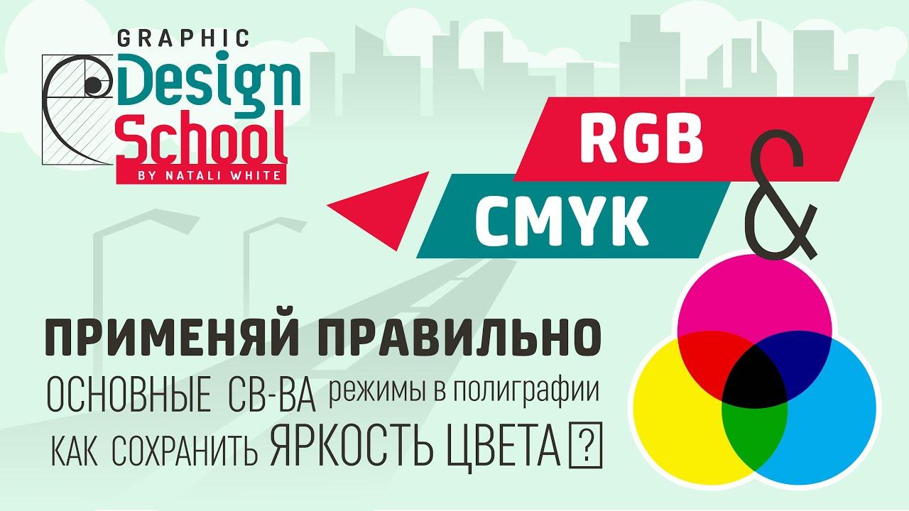 002 | Урок: Цветовые модели CMYK и RGB.