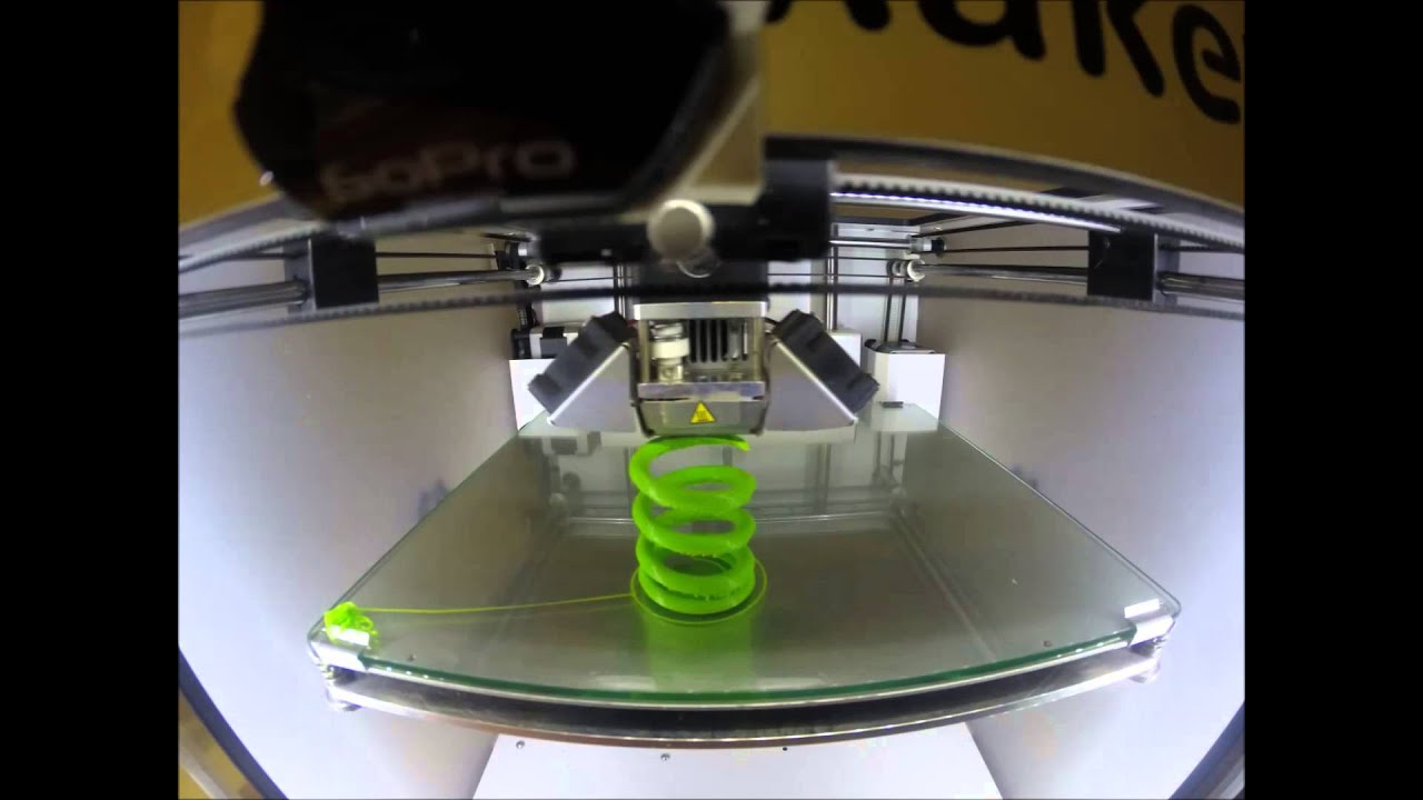 Spring 3D printing - YouTube