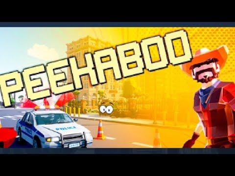 Прятки онлайн Пикабу! Предметы против Полицейских в игре Peekaboo Кооператив!