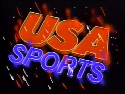 CGI History - 1987 USA Sports Basketball - Ed Kramer, CGI Expert Wizard