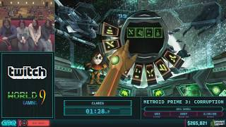Metroid Prime 3: Corruption By Claris In 2:40:33   Agdq 2018   Part 51