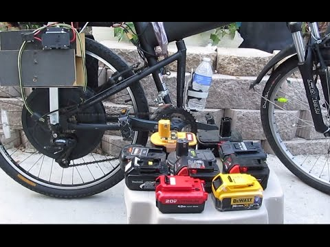 Diy Home Made Electric Bike Battery Box With Cordless Tool Dewalt