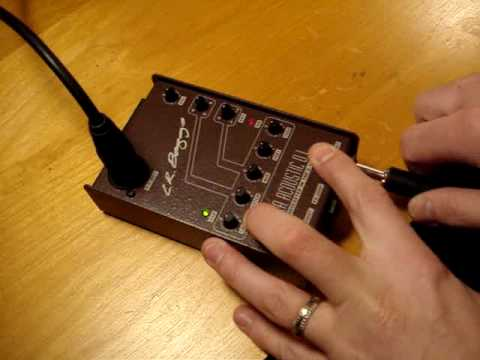 LR Baggs Para Acoustic DI - Input Mod