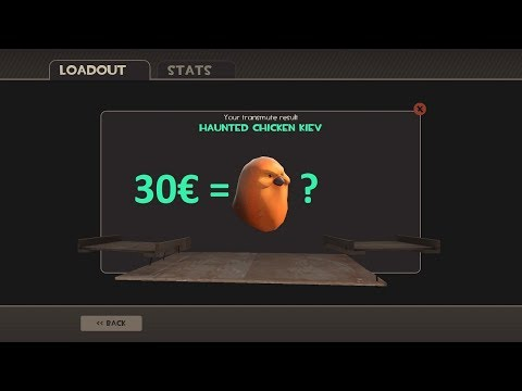 TF2 Wasting 30€ On Halloween Crafts! | Hunt For Chicken Kiev