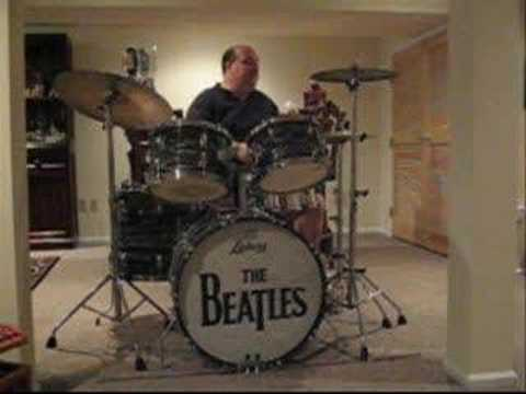 beatles kit drum solo youtube. Black Bedroom Furniture Sets. Home Design Ideas