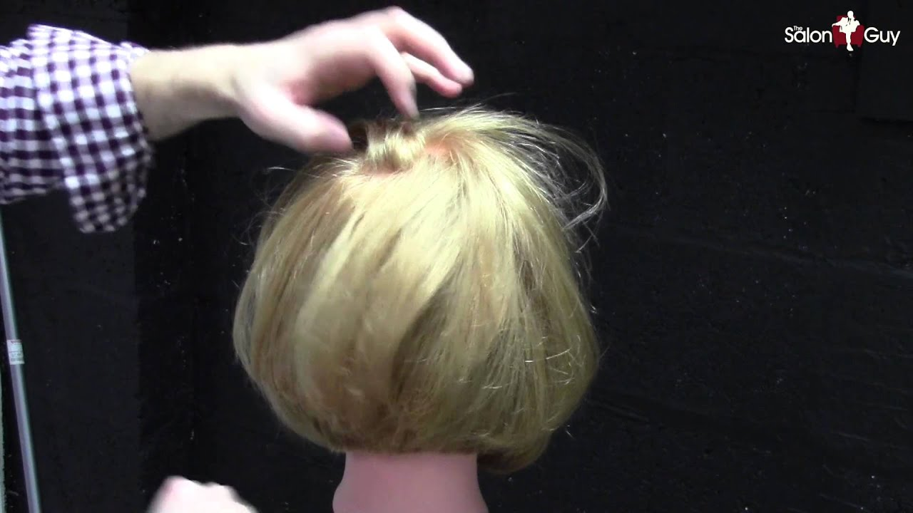 Haircuts for Women - Bob Haircut with Razor Demo - YouTube