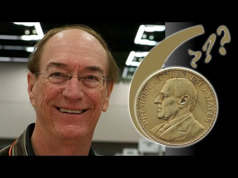 CoinWeek: Mintage Disputed on Philippine Wilson Gold Medal. VIDEO: 2:43.