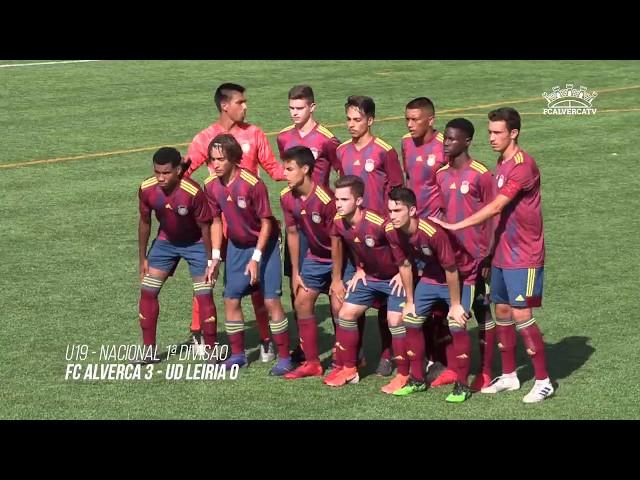 FC Alverca U19 vs UD Leiria U19 - Highlights