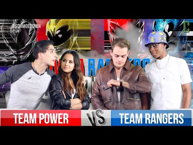 Power Rangers (2017 Movie) Movie Trivia Schmoedown Cast Battle!