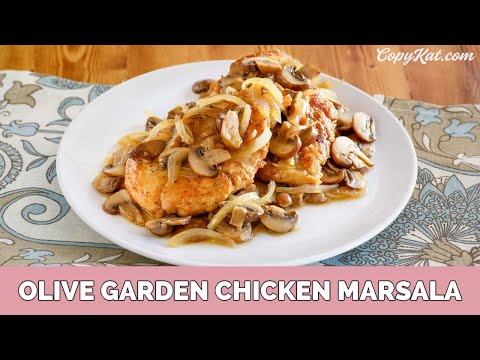 Olive Garden Chicken Marsala Youtube