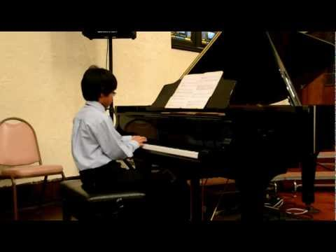 "Gio's  Piano Recital Playing ""Rover Roll Over""  @ Hackensack Christian School 6/2/2012"